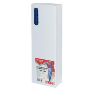 OFFICE PRODUCTS Inele plastic  8 mm, max 45 coli, 100buc/cut - albastru