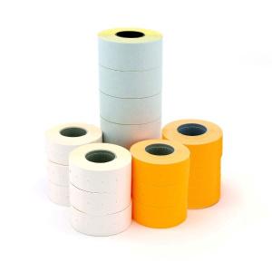 Apli Etichete albe pentru marcator, 21 x 12 mm, 100 bucati/rola