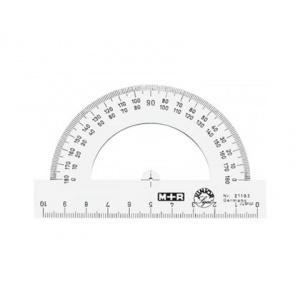 M+R RAPORTOR PLASTIC 10 cm, 0-180 grade