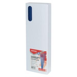 OFFICE PRODUCTS Inele plastic 6 mm, max 25 coli,100buc/cut - albastru