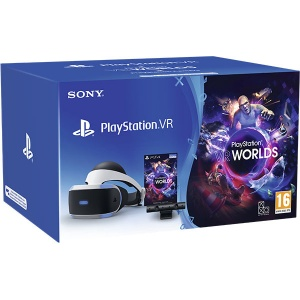 Sony Pachet PlayStation VR + Camera PS + voucher VR Worlds