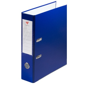 Exte Biblioraft plastifiat 7.5 cm albastru 802
