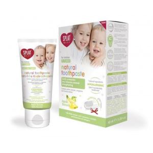 Splat Pasta de dinti pentru copii Apple Banana Baby + periuta de dinti 40 ml