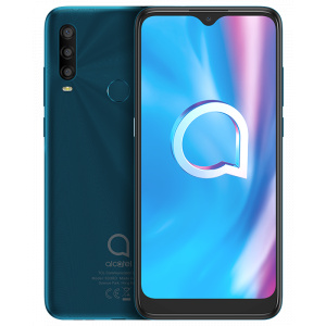 Alcatel 1SE 5030D, 32GB Flash, 3GB RAM, Dual SIM, 4G, Agate Green