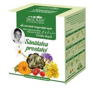 Ceai din plante Sănătatea prostatei, 50 g, Dacia Plant : Farmacia Tei