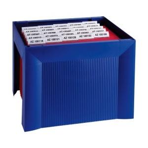 Han Suport plastic pentru 35 dosare suspendabile, Karat - albastru