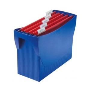 Han Suport plastic pentru 20 dosare suspendabile, Swing - albastru