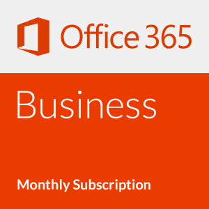 Microsoft Office 365 Business - Abonament lunar (o lună)