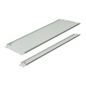 ZPAS Blanking plate grey 1U  WZ-SB00-33-01-011