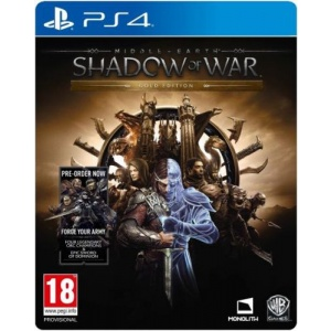Warner Bros. Middle-Earth: Shadow of War - Gold Edition (PS4)