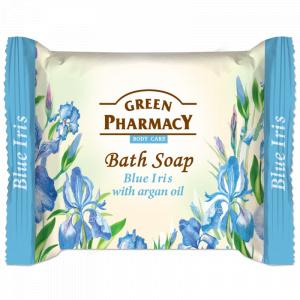 Green Pharmacy Sapun cu Iris Albastru si Ulei de Argan 100g