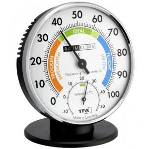 TFA-Dostmann Higrometru - Termometru cu indicator de confort si suport TFA 45.2033
