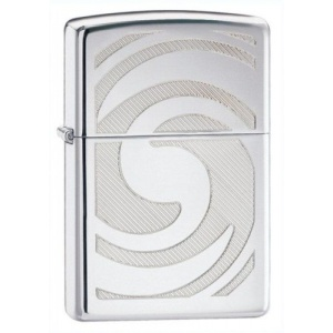 Zippo Swirl-3D Abstract 28286