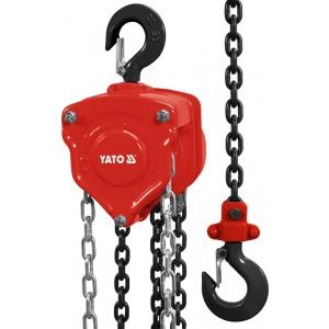 YATO Scripete cu lanț 1000Kg 3m YT-58951