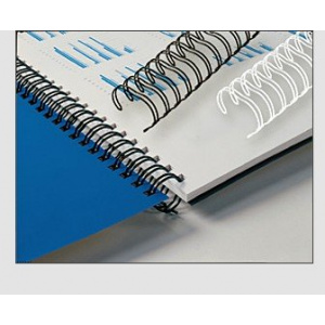 EVOffice Inele metalice 11,0mm pt. 65-80 coli, 100 buc/cutie, alb