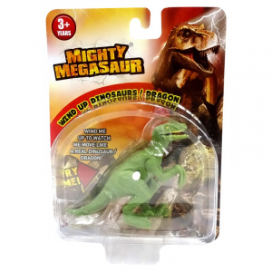 Dragon-I Toys Dinozaur cu cheita Mighty Velociraptor, sunete realiste, 3 ani+