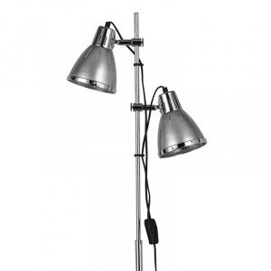 Ideal Lux Lampadar ELVIS PT2 ARGENTO