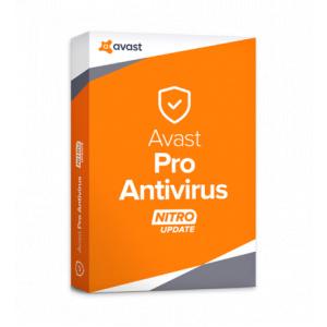 Avast Pro Antivirus – 1 an Pentru 5 dispozitive, certificat electronic