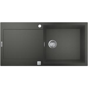 Grohe K500 31645AT0, 1 cuva, picurator reversibil, compozit quartz, antracit
