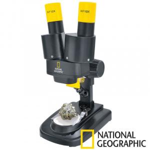 National Geographic Microscop optic, marire 20x, 6 ani+
