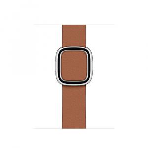 Apple Curea Smartwatch pentru Watch, 40mm, Saddle Brown Modern Buckle - Large