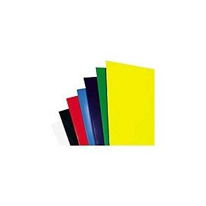 EVOffice Coperti carton color lucios A4, 250g/mp,100 coli/top, albastru