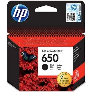 HP #650 black (CZ101AE)