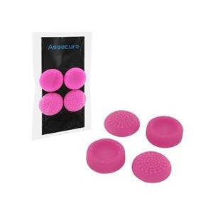 Assecure Silicone Thumb Grips Concave And Convex Pink Ps4