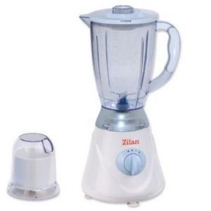 Zilan Blender + rasnita ZLN-7917, putere 300W, capacitate 1.6L, 2 viteze, functi puls