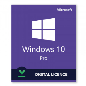 Microsoft Windows 10 Professional Digital Licence CoA