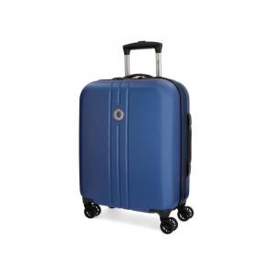 Movom Troler ABS 55 cm 4 roti Riga Albastru