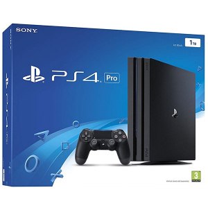 Sony Playstation 4 Pro (PS4 Pro) 1TB, Jet Black, G - Chassis