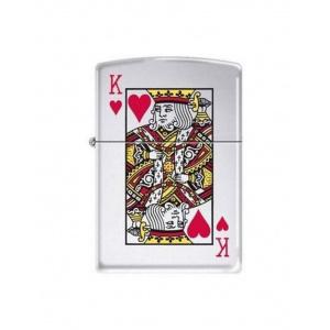 Zippo Brichetă 7555 King of Hearts