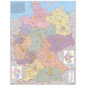 Stiefel Harta Coduri Postale Germania 100x130 Cm Detalii Produs