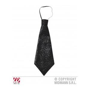 Widmann Cravata lurex neagra