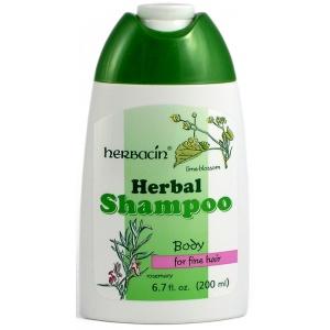 Herbacin Sampon pentru par normal/subtire cu flori de lamai 200 ml