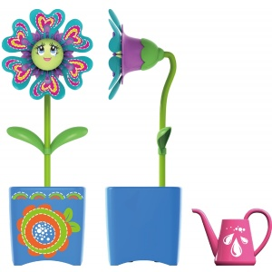 Silverlit Set Floare Magic Bloom Si Gandacel Ghiveci
