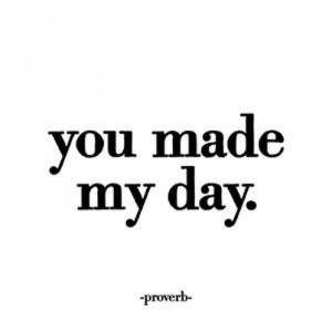 Quotable Cards Felicitare - You made my day
