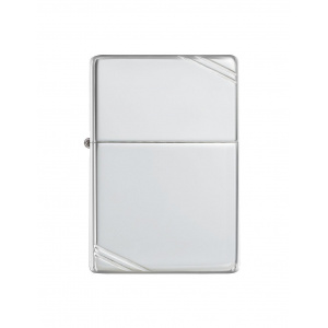 Zippo Brichetă 14 Sterling Silver Vintage with Slashes