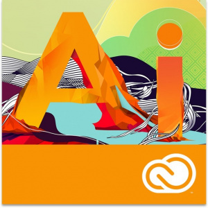 Adobe Illustrator CC for teams - Educationala, 1-9 utilizatori, Named, 1 An