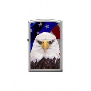 Zippo Brichetă 1134 Eagle & USA Flag