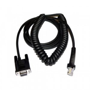 Datalogic Cablu Serial CAB-434, 2.4m, Black