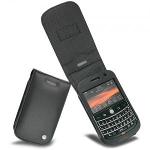 Noreve Husa Piele pentru Blackberry Bold 9000 Neagra