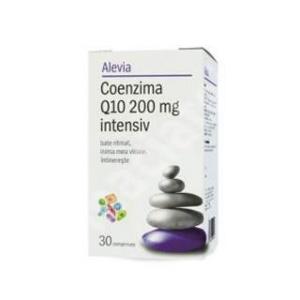 Alevia Coenzima Q10 200 mg intensiv 30cpr