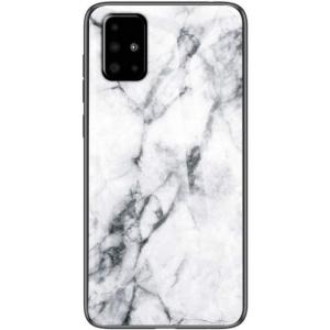 Wozinsky Protectie Spate Marble WHMSGA51A pentru Samsung Galaxy A51 (Alb)