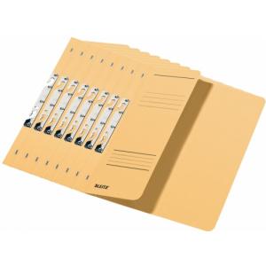 Leitz Dosar carton color, pentru incopciat, coperta 1/2 kraft 50 buc/set PCKE37440011