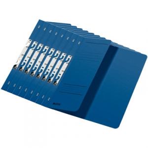 Leitz Dosar carton color, pentru incopciat, coperta 1/2 albastru 50 buc/set PCKE37440035