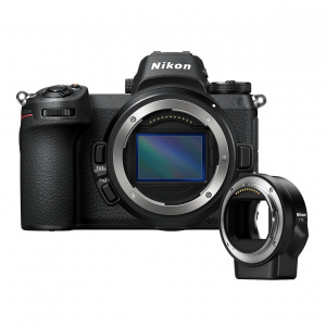 Nikon Z6 Body black + Adaptor FTZ (VOA020K002)