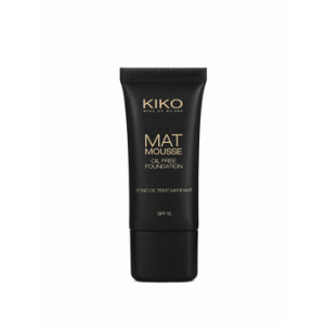 Kiko Fond de ten Mat Mousse Oil Free, 11 Caramel, 30 ml