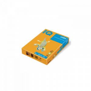 IQ Hartie color A4 80 g/mp 500 coli/top portocalie